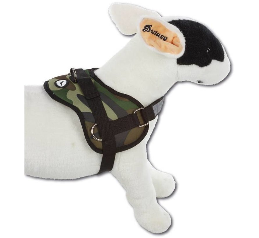Dog Harness Survival Camouflage
