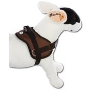 Doxtasy Hondentuig Survival harness Chocolate Brown