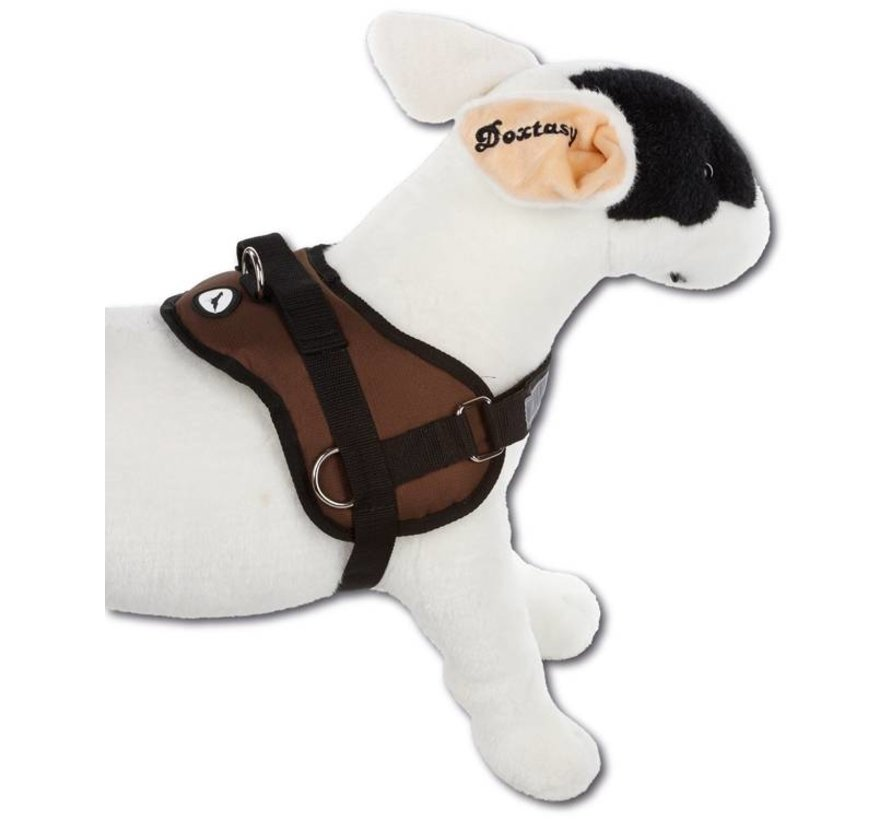 Survival dog harness Chocolate Brown