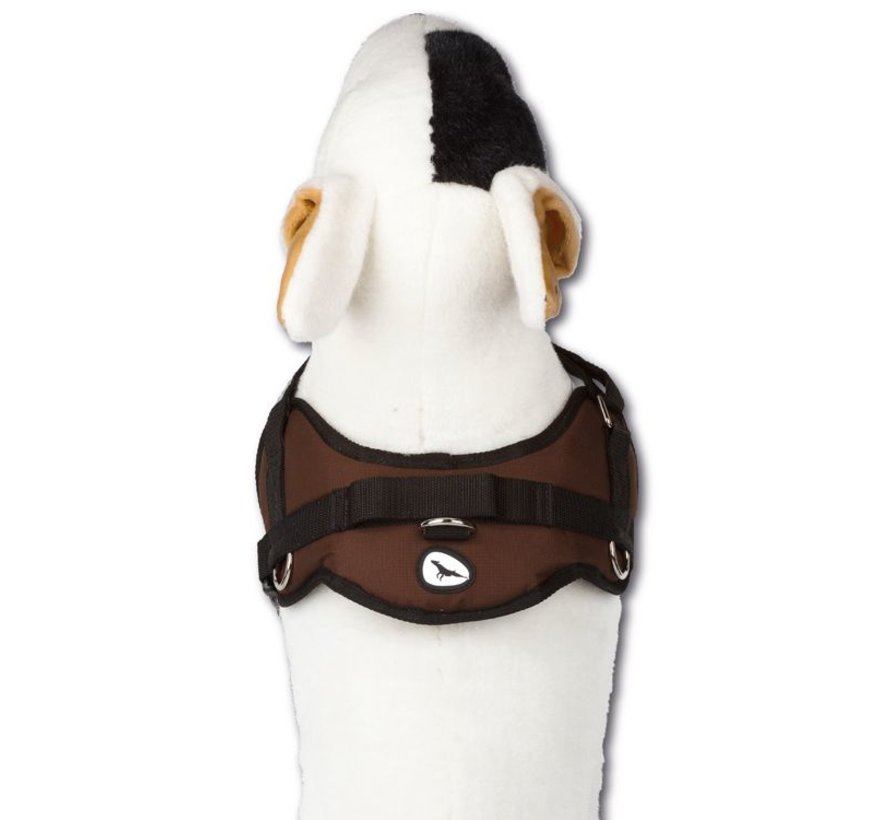 Hondentuig Survival harness Chocolate Brown