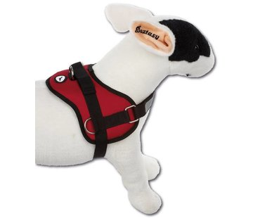 Doxtasy Survival Dog Harness Red