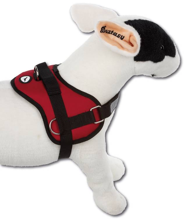 Hondentuig Survival harness Red
