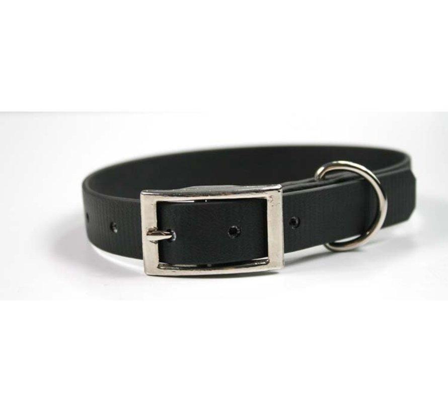 Dog Collar Black Biothane