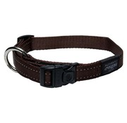Rogz Dog Collar Utility Brown