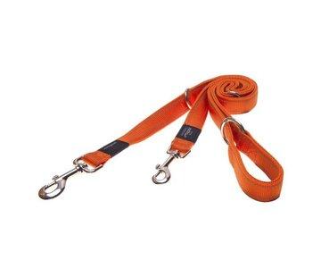 Rogz Dog Leash Utility Multi Purpose Orange