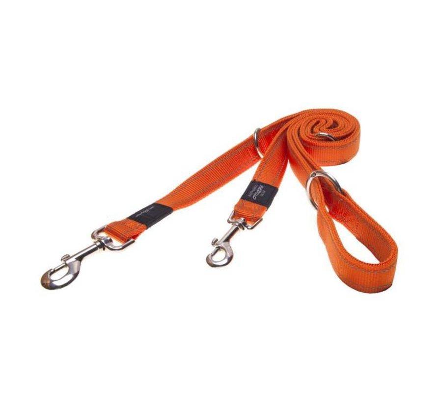 Hondenriem Utility Multi Purpose Oranje