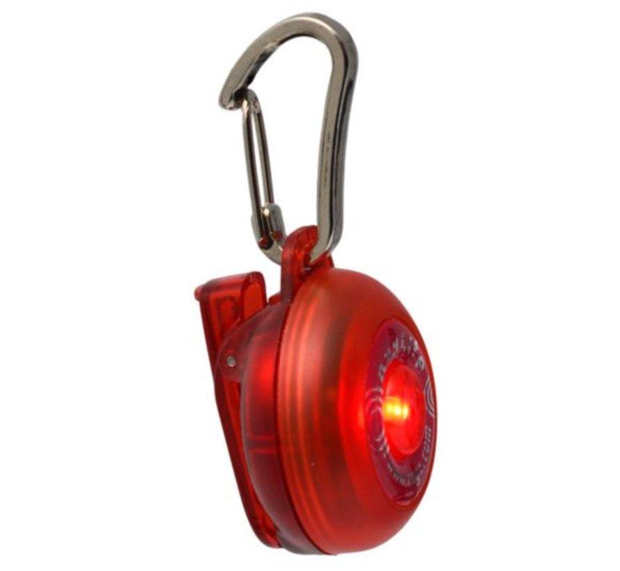 Roglite Veiligheidslamp voor honden Rood
