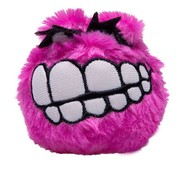 Rogz Dog Toy Fluffy Grinz Pink