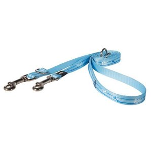 Rogz Puppy Leash Multi Purpose Reflecto Blue