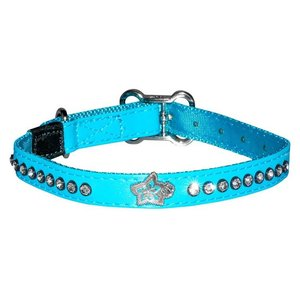 Rogz Dog Collar Luna Blue