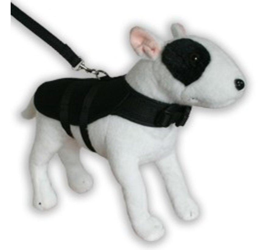 Dog Harness Coat Mesh Black