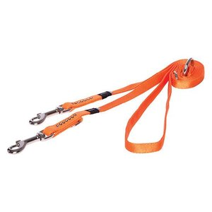 Rogz Dog Leash Multi Purpose Luna Orange
