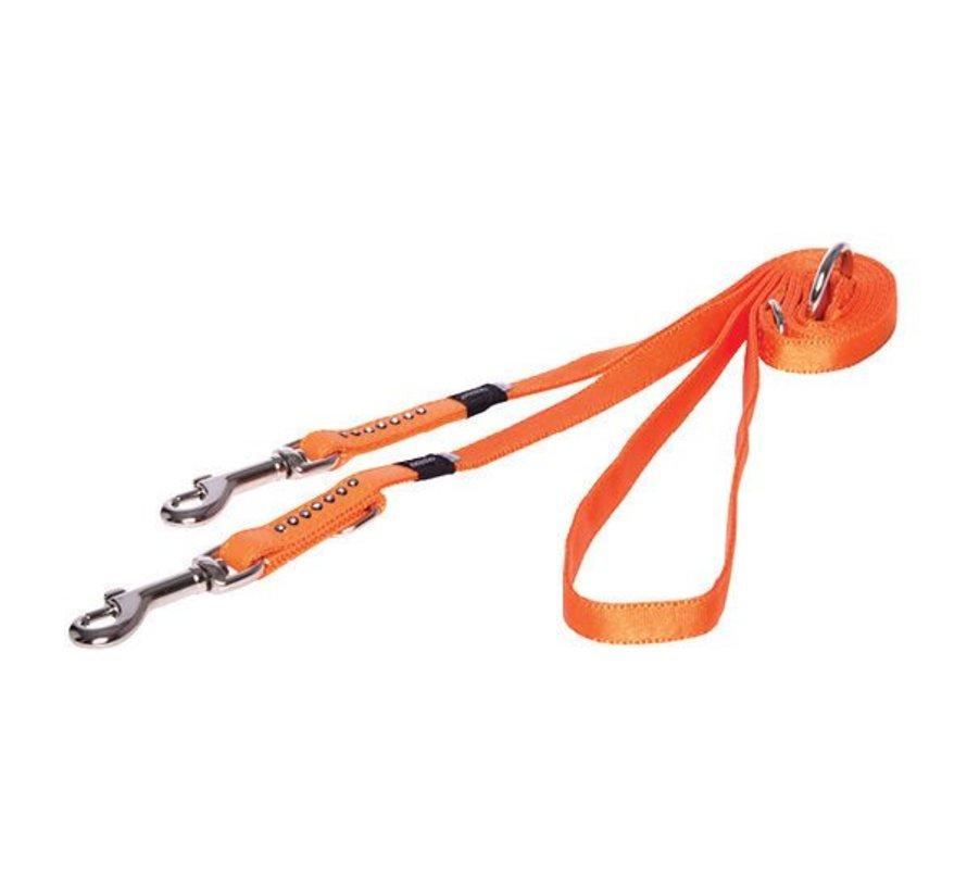Hondenriem Multi Purpose Luna Oranje