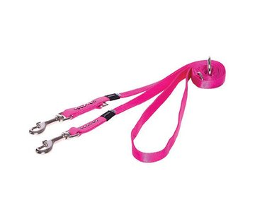 Rogz Dog Leash Multi Purpose Luna Pink