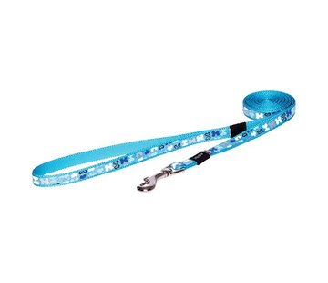Rogz Dog Leash Trendy Blue Bones