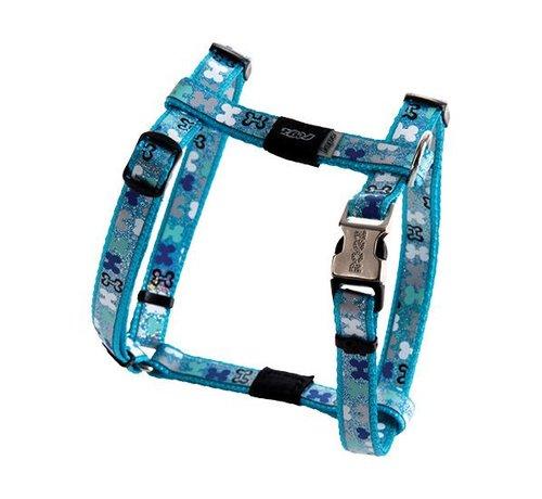 Rogz Hondentuig Trendy Blue Bones