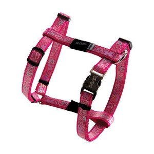 Rogz Dog Harness Trendy Pink Bones