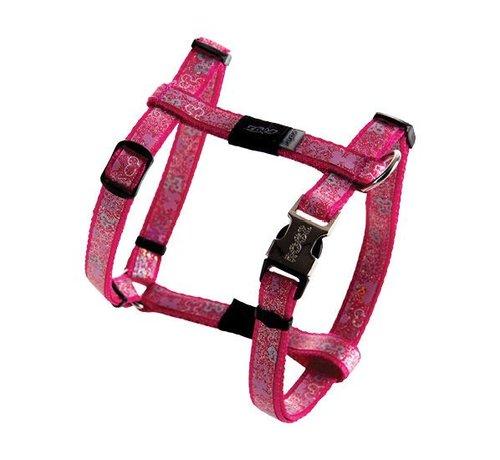 Rogz Hondentuig Trendy Pink Bones
