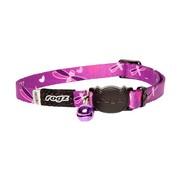 Rogz Cat Collar KiddyCat Purple Dragonfly