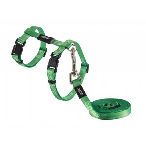 Rogz Cat Harness KiddyCat Lime Paws