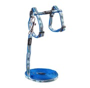 Rogz Cat Harness NightCat Blue Floral