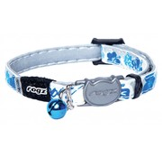 Rogz Cat Collar GlowCat Blue Floral