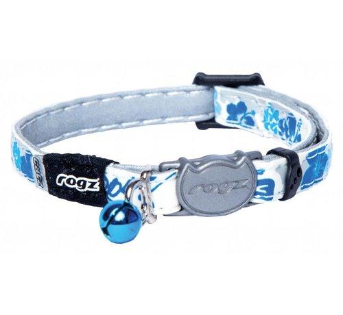 Rogz Cat Collar GlowCat Blue Floral