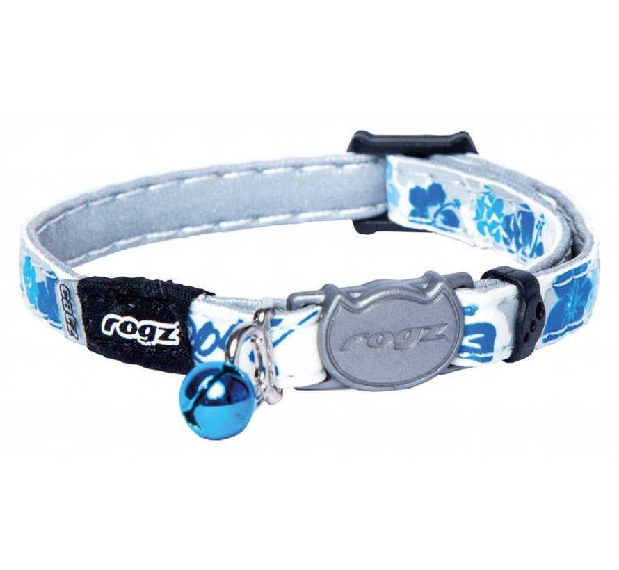 Cat Collar GlowCat Blue Floral