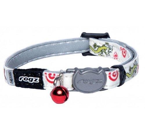 Rogz Kattenhalsband GlowCat Gecko