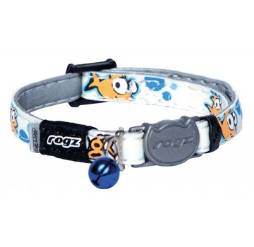 Rogz Cat Collar GlowCat Gold Fish