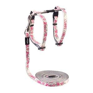 Rogz Cat Harness GlowCat Pink Butterflies