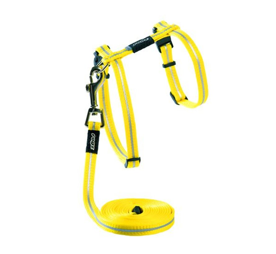 Cat Harness AlleyCat Yellow