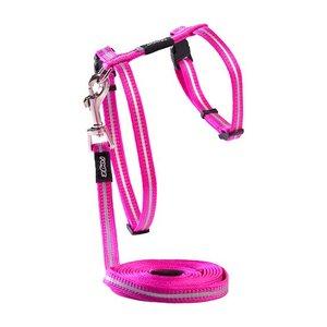 Rogz Cat Harness AlleyCat Pink