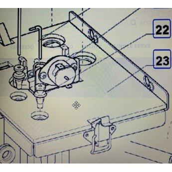 N&W Rubber voor ntc en waterhoogte boiler