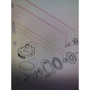 Bravilor Dichting Mixermotor