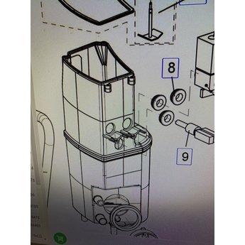 Douwe egberts Boiler rubber voor klep