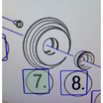 Douwe egberts Rubber motor Cafitesse 60 / 61