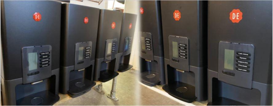 Ontdek onze koffie machines >>