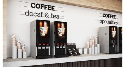 Nieuwe koffie automaten