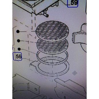 Afdichtingsring Gallery 220 Freshbrew metal filter seal