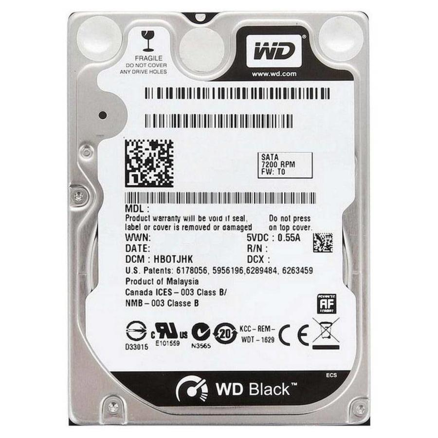 Western Digital WD Scorpio Black 320GB 2.5 inch