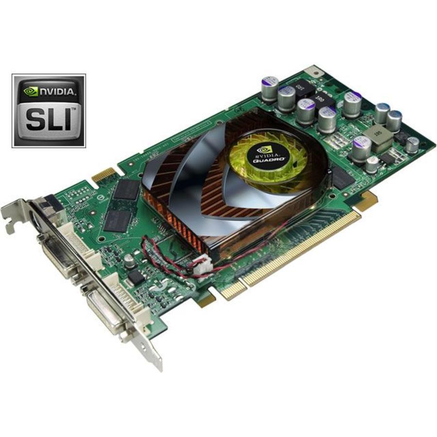 Videokaart HP NVIDIA Quadro FX1500 - 256Mb - NVIDIA SLI