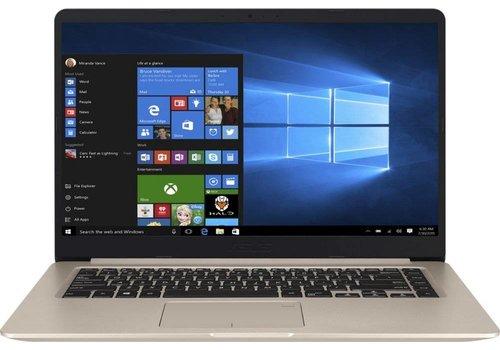 "ASUS VivoBook S510UA-BQ514T 1.60GHz i5-8250U Intel® 8ste generatie Core™ i5 15.6"" 1920 x 1080Pixels Goud Notebook (refurbished)"