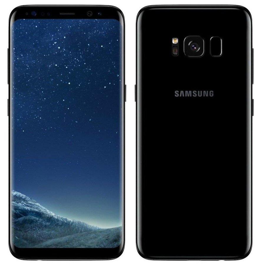 Galaxy S8+ Smartphone 6.2 64GB Black RFG (refurbished)