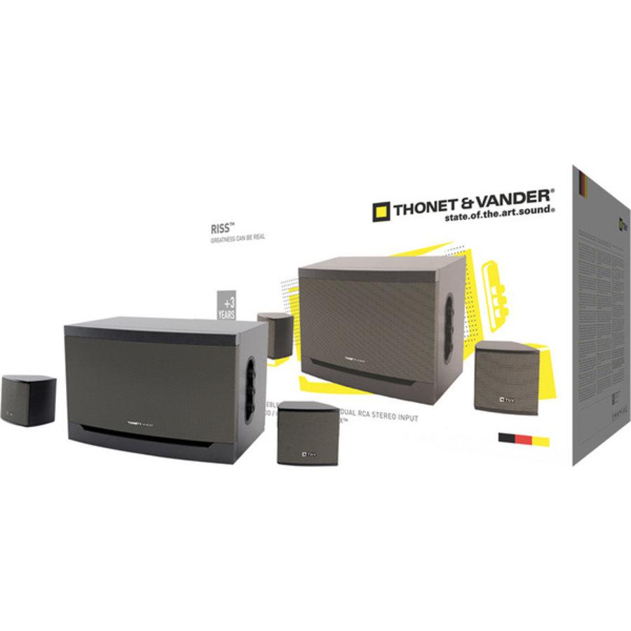 NIEUW Thonet & Vander Riss Stereo Installatie