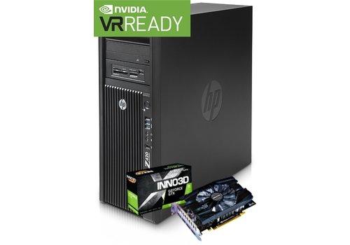 Refurbished Gaming PC HP Z420 - Xeon E5-1650 V2 - GTX 1660 Super 6GB