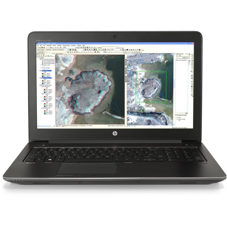 Refurbished HP ZBook 15 G3 - Quad Core Xeon - 512GB NVME SSD