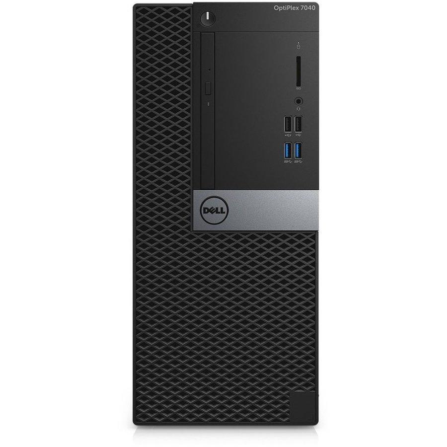 Refurbished Dell Optiplex 7040 MT - Intel Core i5-6500 - 128GB M.2 SSD + 500GB HDD