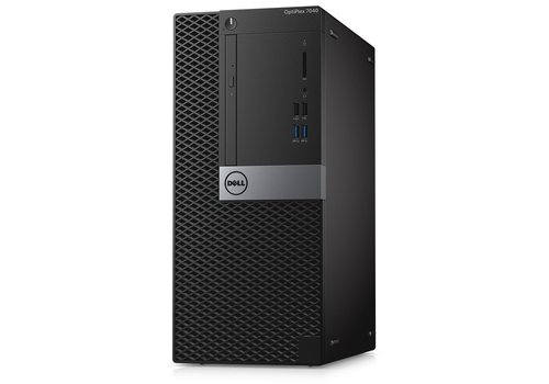 Refurbished Dell Optiplex 7040 MT - Intel Core i5-6500 - 128GB M.2 SSD + 500GB HDD