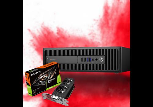 Gaming PC Refurbished HP EliteDesk 800 G2 SFF - GTX 1650 OC 4GB